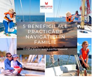 5 beneficii ale practicării navigației în familie